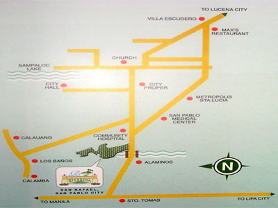 Riverina Residential and Commercial Estates, San Rafael, San Pablo City, Philippines